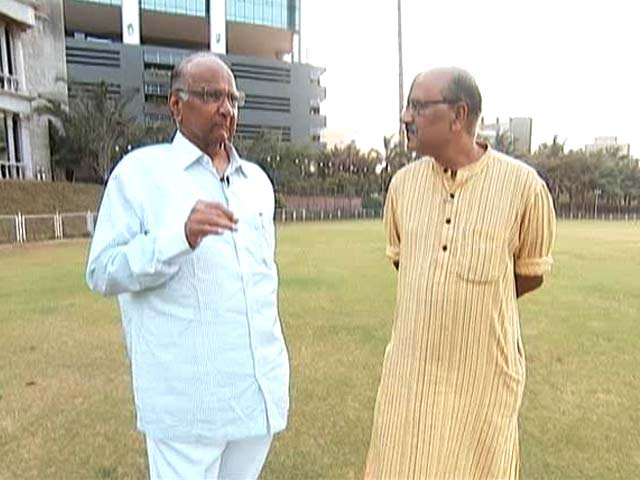 Video : Walk The Talk with NCP Chief Sharad Pawar