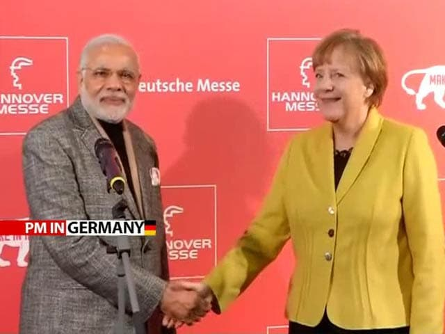 Video : PM Narendra Modi, German Chancellor Angela Merkel Issue Joint Statement