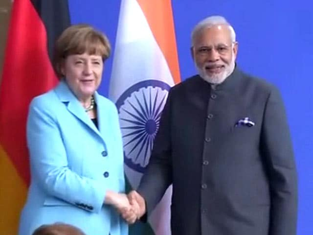 Video : The Lion and Eagle Will Make Good Partners: PM Modi on Ties With Germany