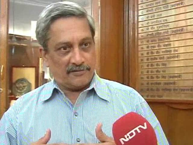 Video : Previous Government Did Not Think the Rafale Jet Deal Through: Defence Minister Manohar Parrikar to NDTV