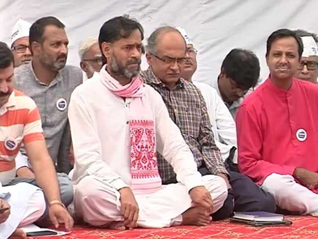 Video : AAP Rebels Yogendra Yadav, Prashant Bhushan Form Non-Political Group 'Swaraj Abhiyan'