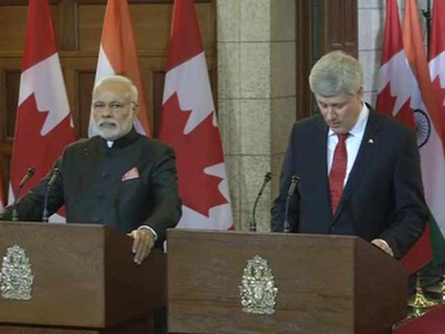 Video : Attach Highest Importance to India-Canada Ties, Says PM Modi