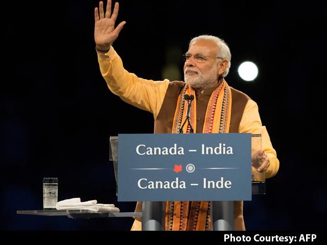 Video : Watch PM Modi's Address to the Indian Diaspora in Toronto