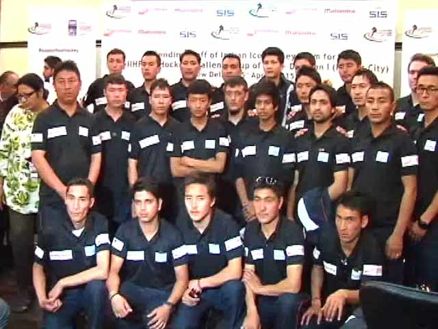 Video : Indian Ice Hockey Team All Set to Compete in Kuwait