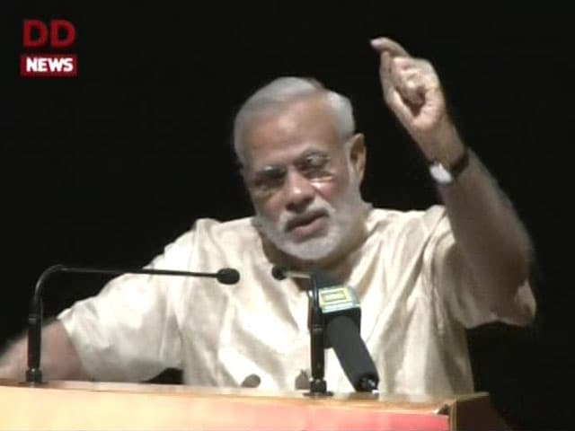 Video : 'This is a Government for the Poor,' PM Modi Tells BJP Lawmakers