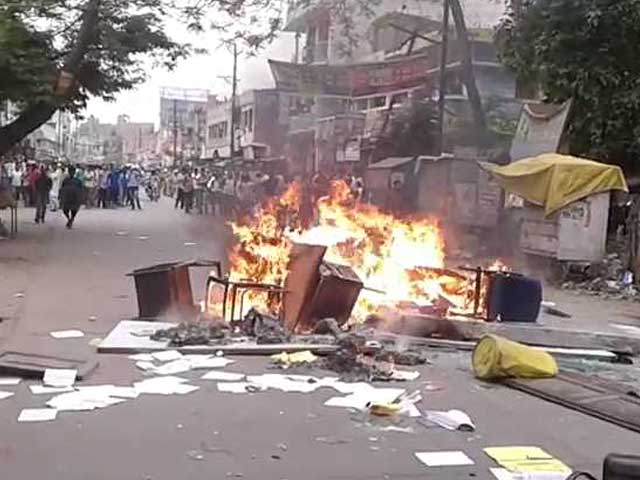 Video : 3 Children Killed, Many Injured in Bihar School Van Accident, Protests at Hospital