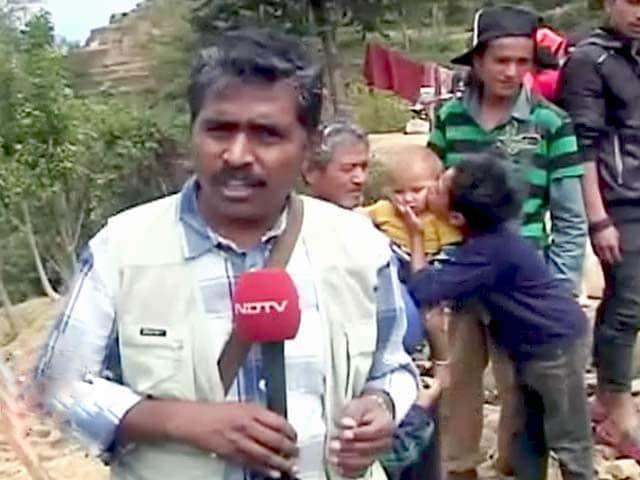 Videos : 'नौगांव-कोइराला गांव पहुंचने वाला पहला चैनल बना एनडीटीवी'