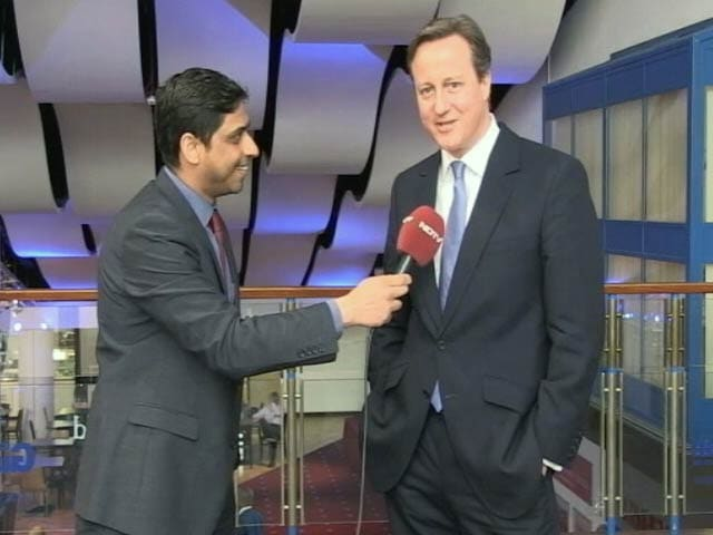 Video : British PM David Cameron Says <i>Phir Ek Bar Cameron Sarkaar</i>