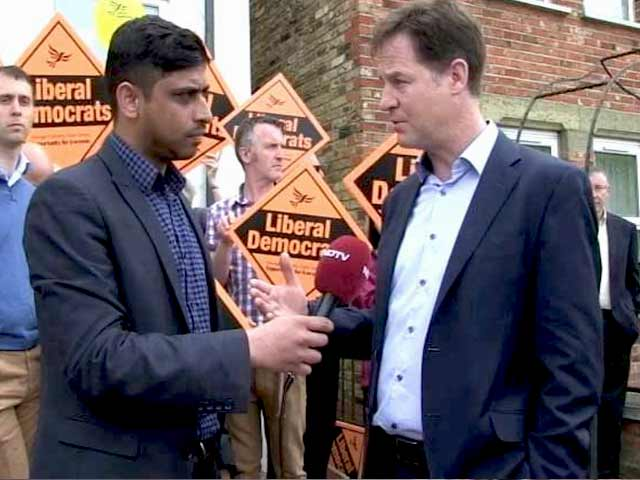 Video : UK Election: Hope We Will Win Many Seats, Deputy PM Nick Clegg Tells NDTV