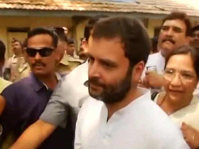Video : Rahul Gandhi, Exempted From Court Appearance, Shows Up Anyway