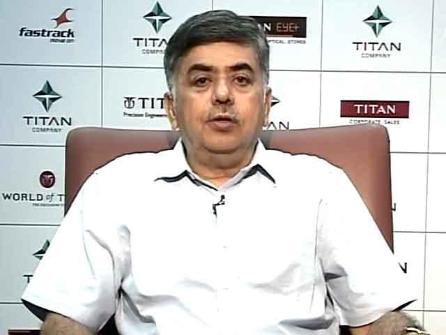 Video : Titan Has 60% of Organised Watch Market: Managing Director