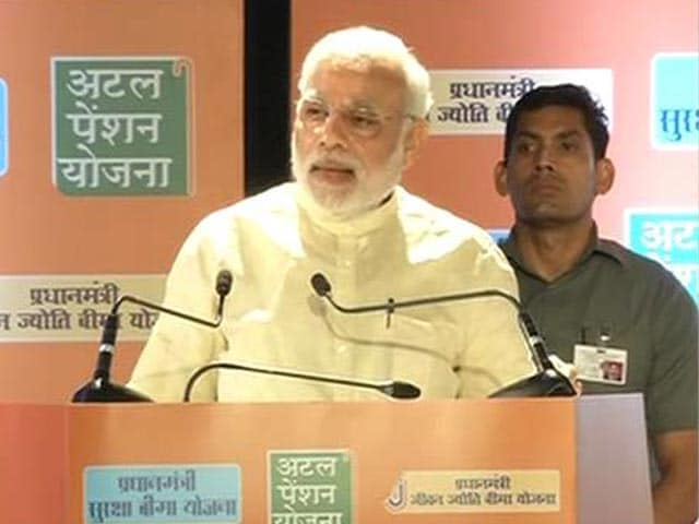 Video : PM Modi Unveils Social Schemes, Says Development Incomplete if Poor Don't Share its Fruits