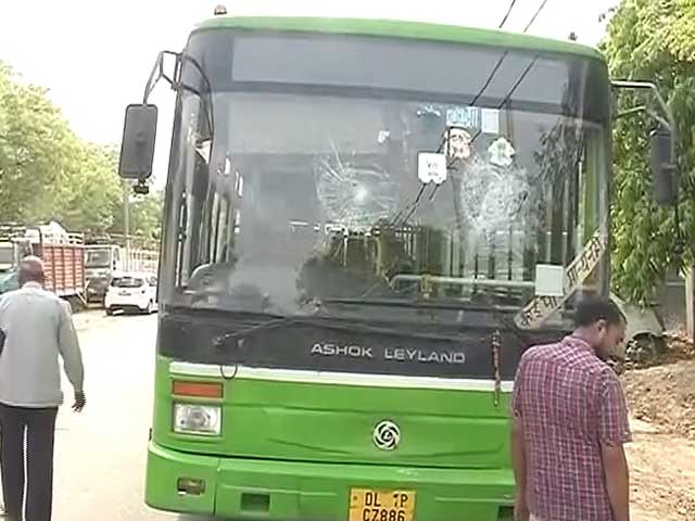Video : Delhi Bus Drivers on Strike After Colleague is Beaten to Death, Demand 1 Crore