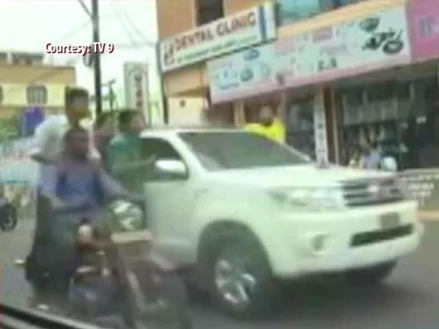 Video : Caught on Camera, Andhra Pradesh Lawmaker's Son Has Fast and Furious 'Party'