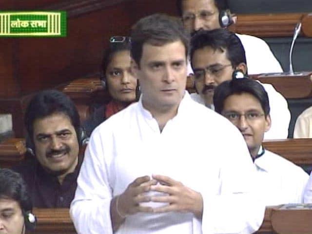 Video : Rahul Gandhi Repeats 'Suit-Boot' Charge. BJP's Comeback: '<i>Jijaji</i>'