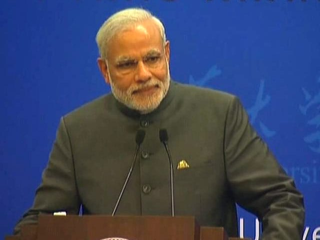 Video : Watch Prime Minister Modi's Speech to Beijing Students