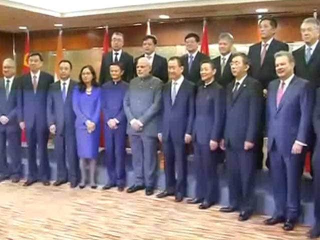 Video : 'Make in India,' PM Narendra Modi Tells Top Chinese CEOs in Shanghai