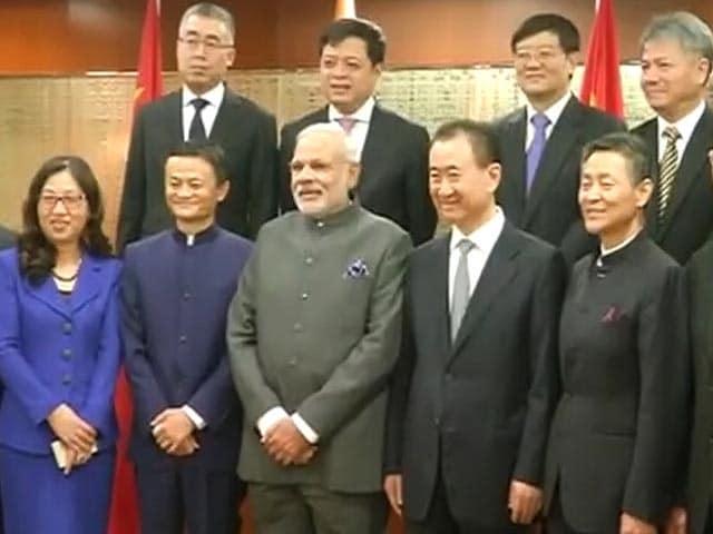 Video : शंघाई में चीन के टॉप CEOs से पीएम मोदी की मुलाकात