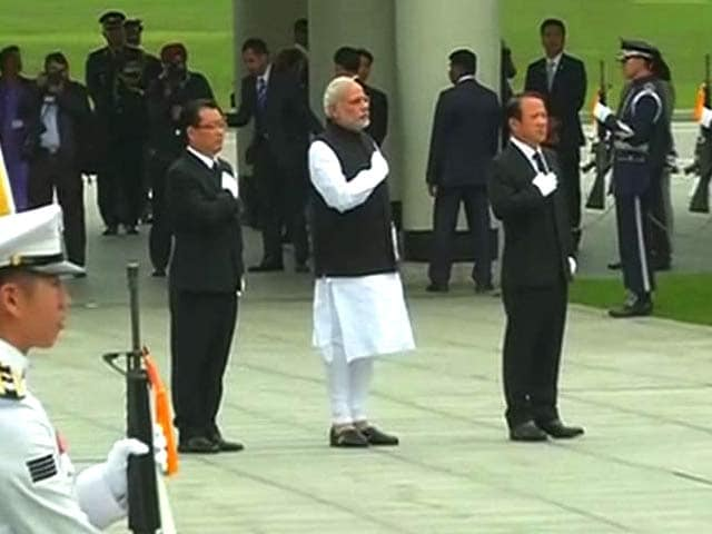 Video : PM Narendra Modi in Seoul, Will Talk Trade With President Park Geun-Hye