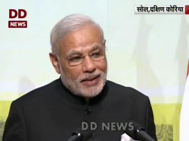 Video : Things Have Changed, Indians Now Excited to Return: PM Narendra Modi in Seoul