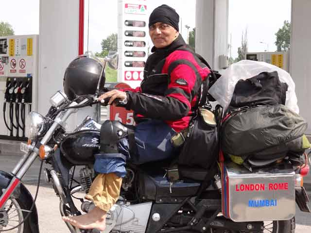 Video : 62-Year-Old From Mumbai to Embark on 140-Day Solo Motorcycle Expedition Across US, Canada
