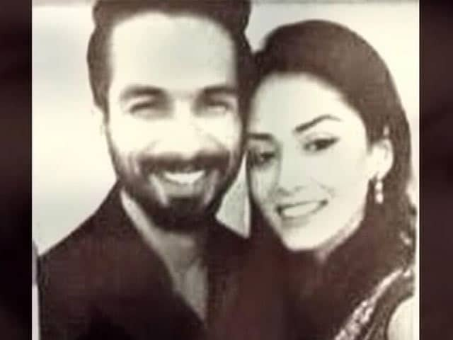 Video : Shahid-Mira's Selfie Time
