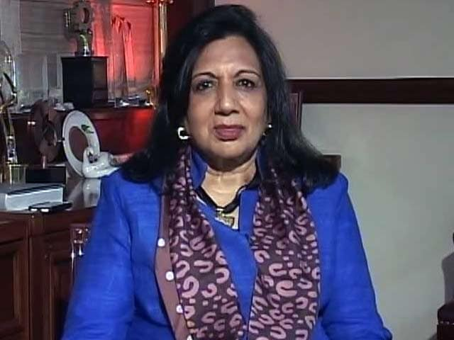 Video : Kiran Mazumdar-Shaw Hits Out at Rahul Gandhi for 'Suit Boot Ki Sarkar' Jibe