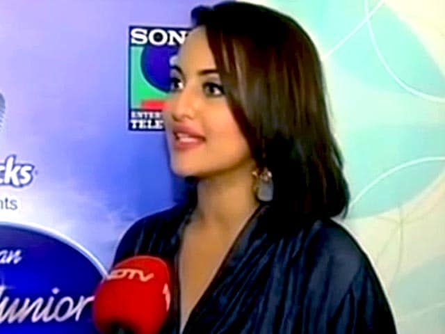 Video : Not Worried About <i>Indian Idol Jr</i> TRP: Sonakshi Sinha