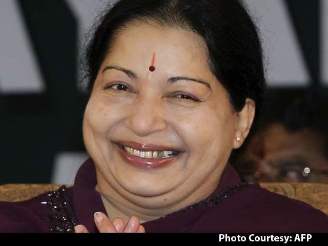 Video : Jayalalithaa Set to Return as Tamil Nadu Chief Minister After Party Lawmakers' Meeting