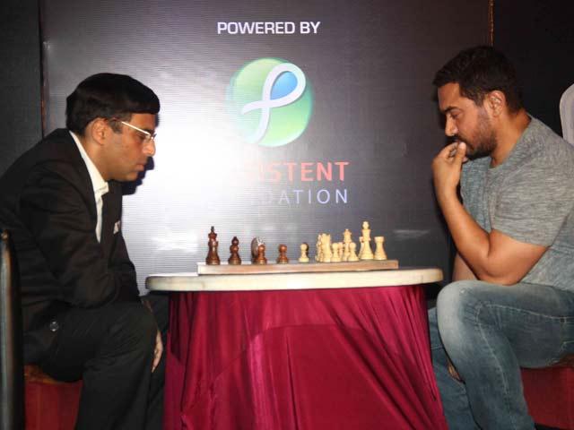 Shatranj Ke Khiladi: Aamir Khan vs Viswanathan Anand