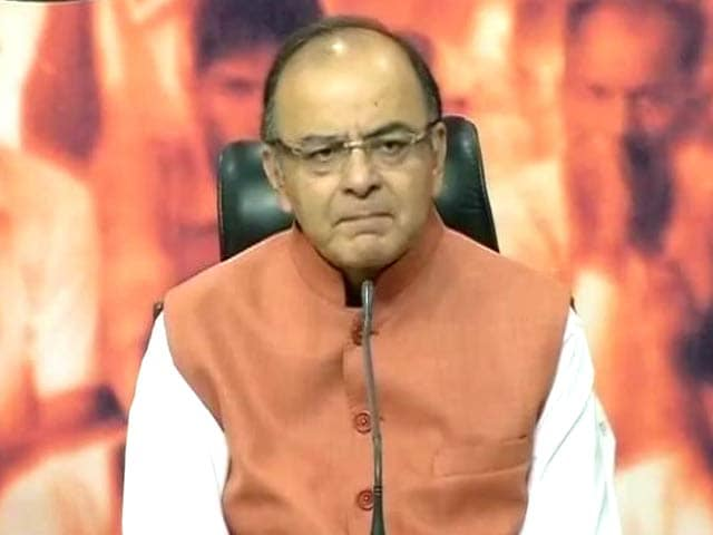 Video : BJP Has Restored the Credibility of the Prime Minister's Office: Finance Minister Arun Jaitley
