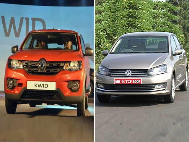 Video : Renault Kwid With Carlos Ghosn & VW's New Vento Kicks Off 5-Car Plan