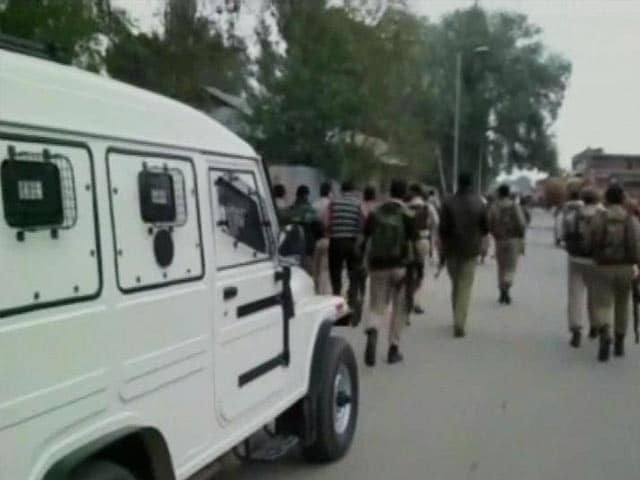 Video : Terror Attack at BSNL Showroom in Sopore, Jammu and Kashmir; Gunmen Escape