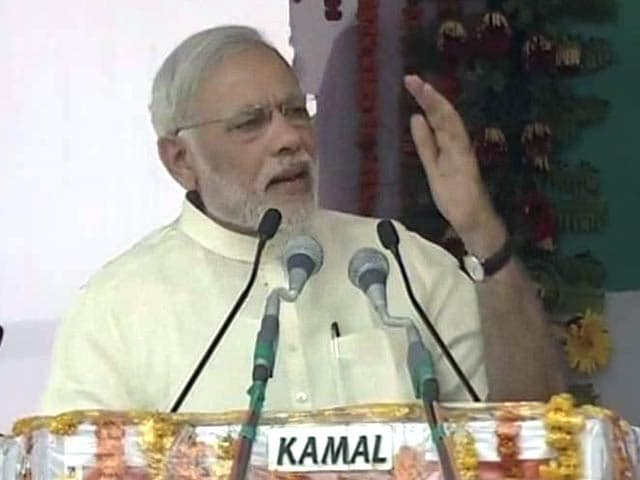 Video : '<i>Achche Din</i> Are Here, But These Are <i>Burey Din</i> for Some': PM Modi's Dig at Congress