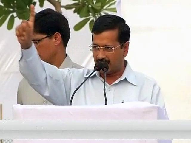Videos : दिल्ली में AAP सरकार के 100 दिन पूरे होने पर अरविंद केजरीवाल की ओपन कैबिनेट