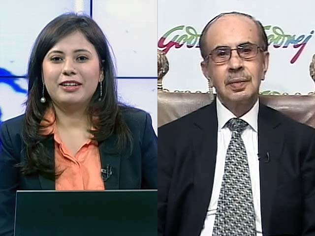 Video : Godrej Industries to Benefit from Implementation of GST: Adi Godrej