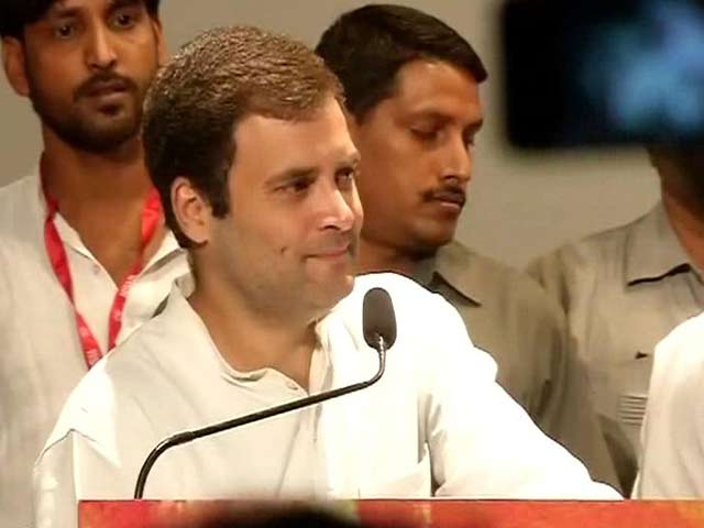 Video : 'PM Modi Took Lesson From Dr Singh on How to Run Economy': Rahul Gandhi