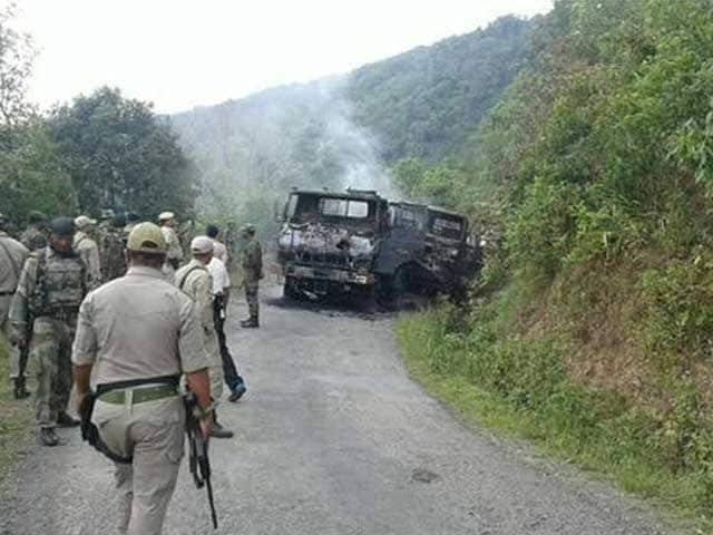 Video : 18 Army Personnel Killed in Ambush in Manipur; Army Planning Counter-Insurgency Operations