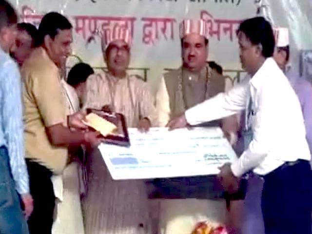 Videos : NDTV संवाददाता को मध्य प्रदेश सरकार का सम्मान