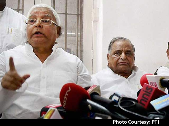 Video : Nitish Kumar To Be Chief Ministerial Candidate of JD(U)-RJD Alliance, Lalu Prasad Proposes Name