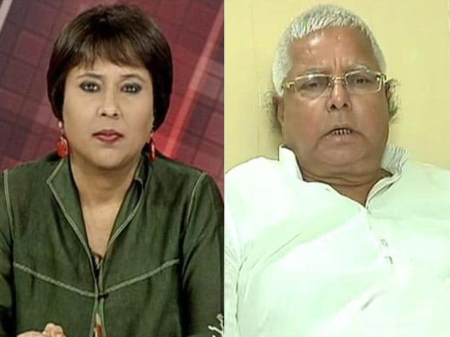 Video : 'Nitish Kumar My <i>Chhota Bhai</i>; Was Kidnapped by BJP': Lalu Prasad to NDTV