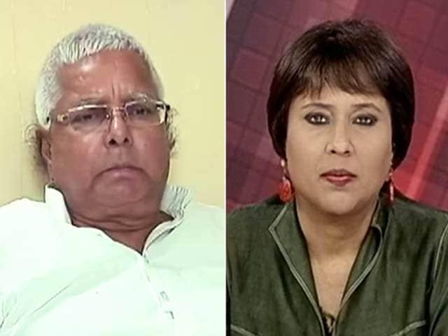 Videos : NDTV एक्सक्लूसिव : लालू बोले, नीतीश मेरे 'छोटे भाई', बीजेपी ने उनका 'अपहरण' कर लिया था