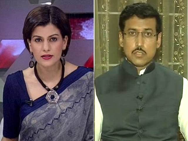 Video : 'PM Modi Ordered Hot Pursuit; Message to Neighbours Who Harbour Terrorists': Rajyavardhan Rathore to NDTV