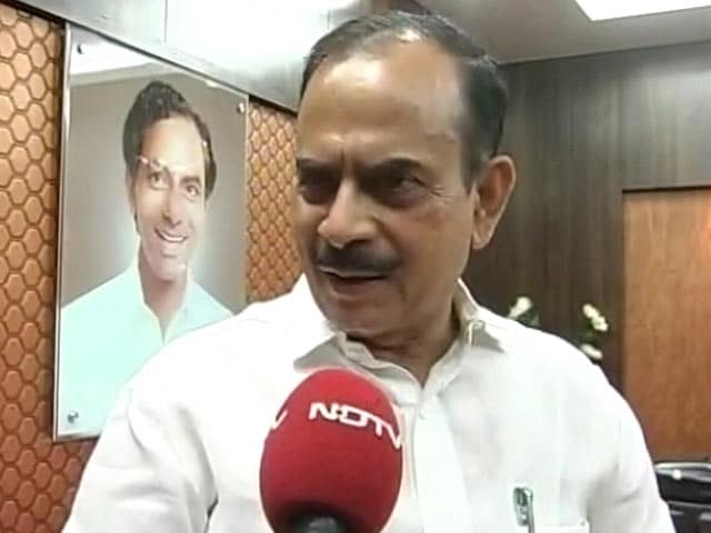 Video : KCR's Deputy Hits Back, Accuses Chandrababu Naidu of Interference
