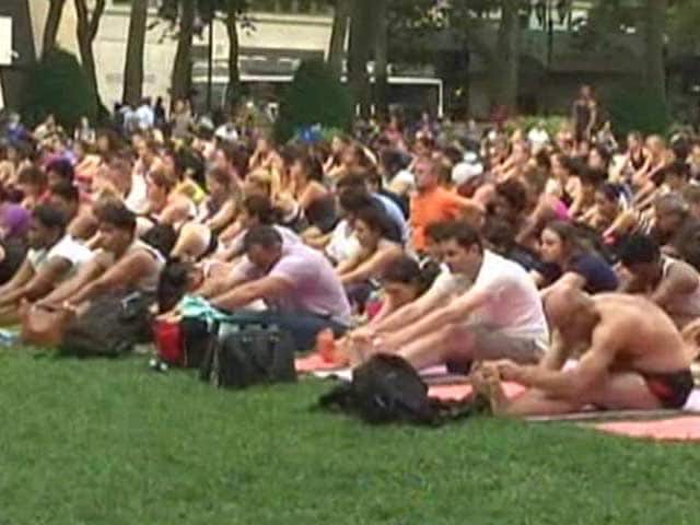 Video : India All Set to Reclaim its Spiritual Legacy on Yoga Day in US