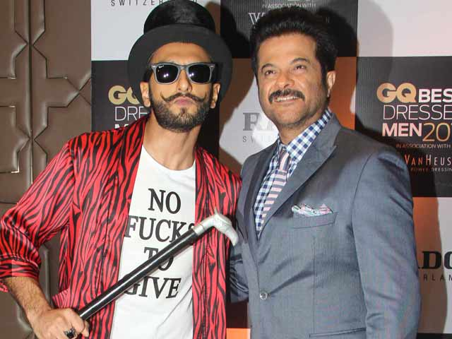 Ranveer is Not Trying to Draw Attention With Fashion: Anil Kapoor