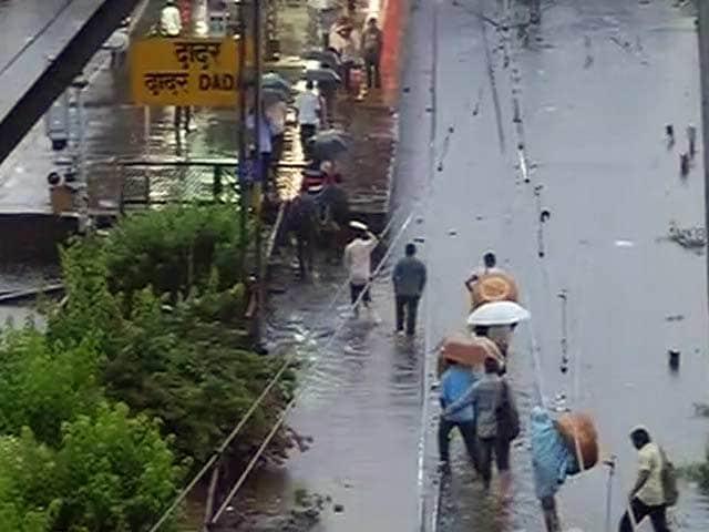 Video : नेशनल रिपोर्टर : पानी-पानी हुई मुंबई
