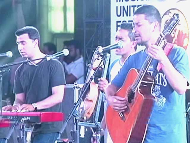 Video : <i>The Music Hour:</i>  Artists United for Nepal