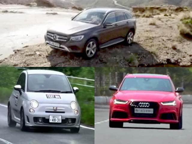 Video : Mercedes-Benz GLC, Audi RS6 Avant and Fiat Abarth 595 Competizione