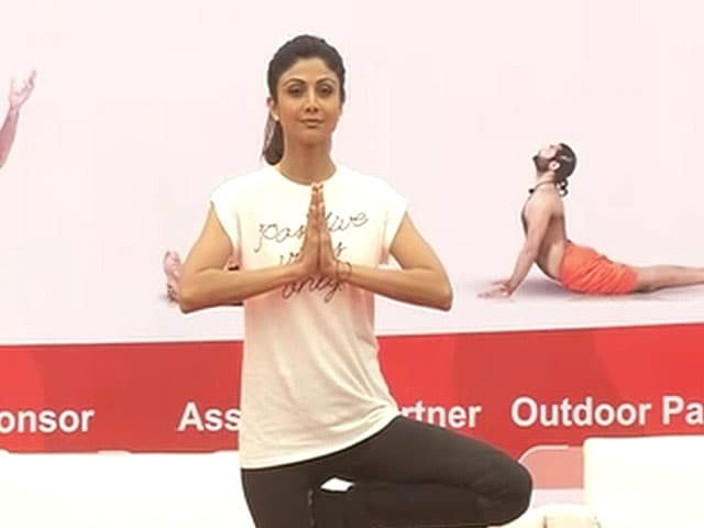 Video : Yoga Masterclass With Shilpa Shetty